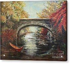The Bridge Fall Acrylic Print