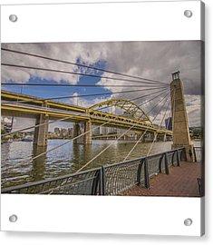 The Bridge. No Not Mc Shan Aka Queens Acrylic Print