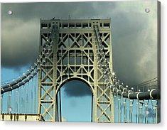 The Bridge Acrylic Print by Paul SEQUENCE Ferguson             sequence dot net