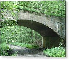 The Bridge Acrylic Print by Robyn Leakey