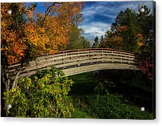 The Bridge To The Garden Acrylic Print