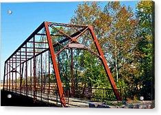The Bridgetone Bridge Acrylic Print by Brittany H