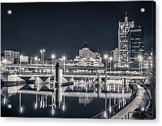 Acrylic Print featuring the photograph The Bright Dark Of Night by Bill Pevlor