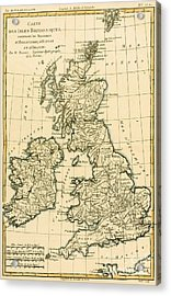 The British Isles Acrylic Print by Guillaume Raynal