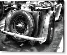 The British Mg  Acrylic Print by Steven Digman