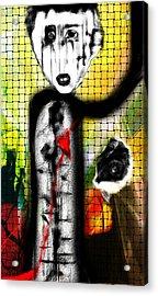 The Broken Heart Acrylic Print