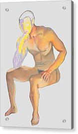 The Broken Man Acrylic Print by Jean Haynes