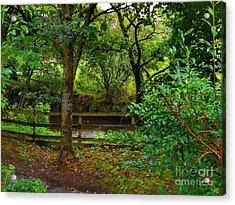 The Brook At Gibbon's Bridge Acrylic Print