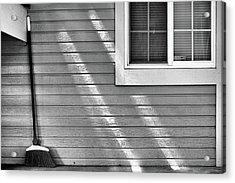 Acrylic Print featuring the photograph The Broom And Sunbeams by Monte Stevens