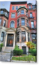 The Brownstone  Acrylic Print by JC Findley