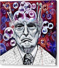 The Bubble King Acrylic Print