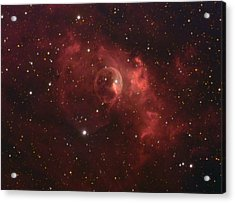The Bubble Nebula Acrylic Print by Charles Warren