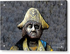 The Buccaneer Acrylic Print by David Lee Thompson
