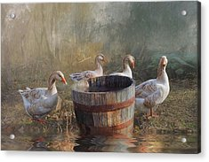 The Bucket Brigade Acrylic Print