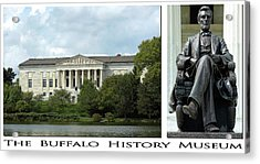 The Buffalo History Museum Acrylic Print by Peter Chilelli
