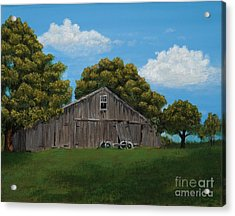 The Buggy Shed Acrylic Print