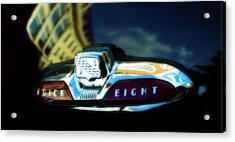 The Buick Eight  Acrylic Print by Steven Digman