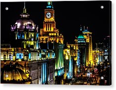The Bund Acrylic Print