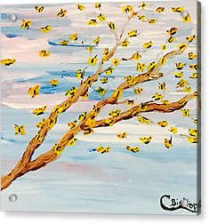 The Butterfly Tree Acrylic Print