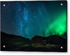 The Cabin Acrylic Print by Tor-Ivar Naess
