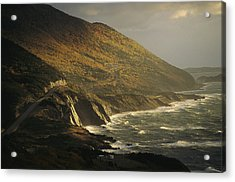The Cabot Trail Winds Its Way Acrylic Print
