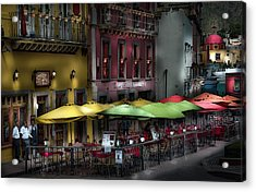 The Cafe At Night Acrylic Print