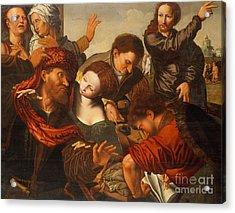 The Calling Of Matthew Acrylic Print
