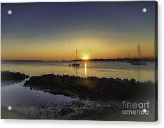 The Calm At Sunrise Acrylic Print