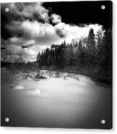 Acrylic Print featuring the photograph The Calm Of Winter by David Patterson