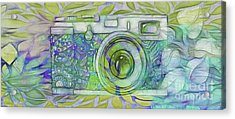 Acrylic Print featuring the digital art The Camera - 02c5b by Variance Collections