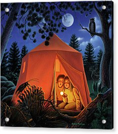 The Campout Acrylic Print