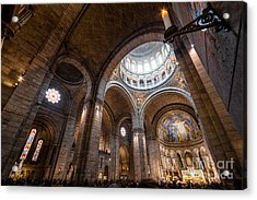 The Candle Acrylic Print by Giuseppe Torre