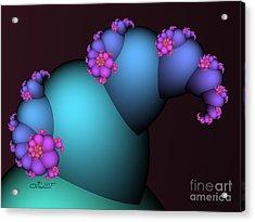 The Candy Plant Acrylic Print by Jutta Maria Pusl