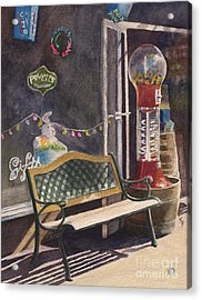 The Candy Shop Acrylic Print