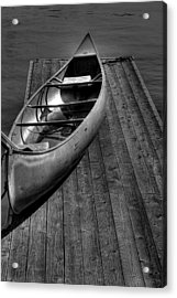 The Canoe Acrylic Print by David Patterson