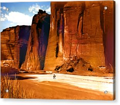 The Canyon Acrylic Print by Paul Sachtleben