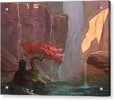 The Canyon Acrylic Print