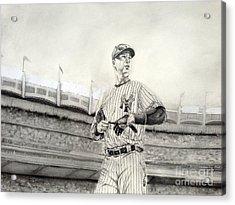 The Captain - Derek Jeter Acrylic Print