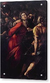 The Capture Of Christ Acrylic Print