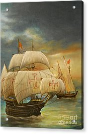 The Caravel Acrylic Print
