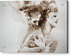 The Caress Acrylic Print by Jea DeVoe