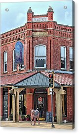 The Carey Building Acrylic Print by JC Findley