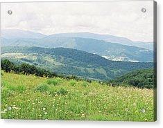 The Carpathian Landscape 5 Acrylic Print