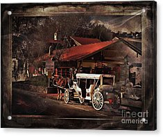 The Carriage Acrylic Print