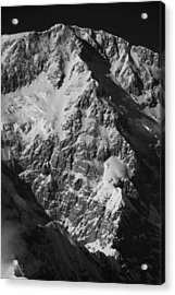 The Cassin Ridge On Denali Acrylic Print by Alasdair Turner