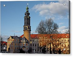 The Castle - Weimar - Thuringia - Germany Acrylic Print by Christine Till