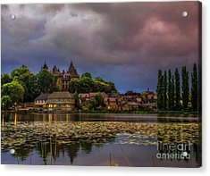 The Castle Of F.r. Chateaubriand Acrylic Print