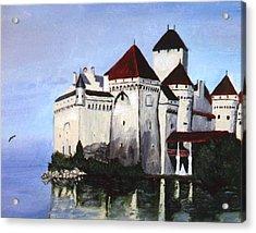 The Castle Acrylic Print by Stan Hamilton