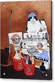 The Cat Crew Acrylic Print
