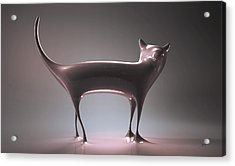 The Cat Acrylic Print